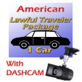 American Lawful Traveler Package WITH DASHCAM (1 car)