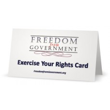 Exercise Your Rights Card