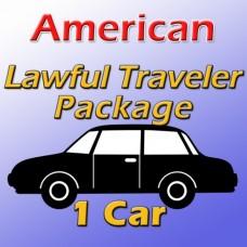 American Lawful Traveler Package (1 car)